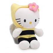 Hello Kitty Bumble Bee Costume, White/Yellow (8-inch)