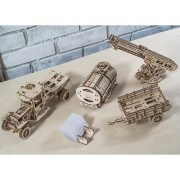 Ugears Set of Additions to the Truck UGM-11 3D Mechanical Puzzle