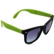 Pede Milan Rectangular Sunglasses(Blue)