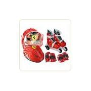 Set role cu accesorii protectie incluse Ferrari marimi reglabile 31-34