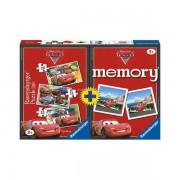 Puzzle memory disney cars 3 buc in cutie 152025 piese