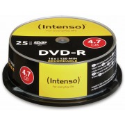 Intenso DVD-R Spindel INTENSO, 25 Stück