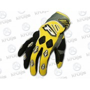 Handschoen Type: 4010 MX Kleur: Wit Geel Maat: M