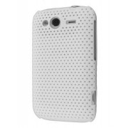 Slim Mesh Case for HTC Wildfire S - HTC Hard Case (White)