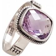 inel din argint cu piatra ametist IN1702