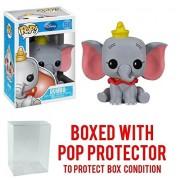 Funko pop! Disney Series 5: Dumbo Vinyl Figure (Bundled with pop Box Protector case)