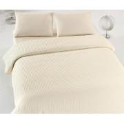 Cuvertură de pat dublu Valentini Bianco YT053 Ecru