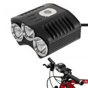 CREE XM-L 3 x T6 4 Mode 2100LM Bicycle Light