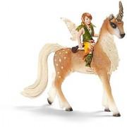 Schleich Male Elf on Unicorn