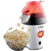 Aparat de facut popcorn Russell Hobbs Fiesta 24630-56, 1200 W, Capac de masurat, Capacitate 35-50 g (Alb/Negru)