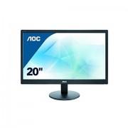 """AOC Monitor LED 20"""" AOC E2070SWN"""