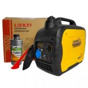 Generator invertor portabil Loncin LC 2000i tip inverter 1.8 kW monofazat 4 CP + 1l ulei motor AgroPro