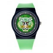 ユニセックス ケンゾー 腕時計 グリーン