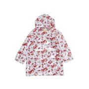 【57%OFF】プリント レインコート レッド 1/2 ベビー用品 > 衣服~~その他