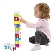 Turnulet din Cuburi cu Numere Maxi Abrick