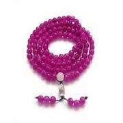 IGL Lab Certified Pink Sulemani Hakik Beads Mala Natural Sulemani Hakik Mala By Jaipur Gemstone