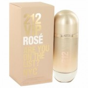 212 Vip Rose For Women By Carolina Herrera Eau De Parfum Spray 2.7 Oz