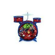 Bateria Acústica Infantil Avengers Vingadores Disney - Toyng