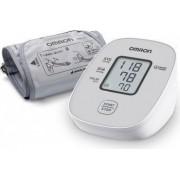 Tensiometru de brat automat OMRON M2 Basic model 2020 Aparat validat clinic 0-299 mmHg 40-180 puls Alb