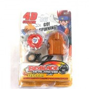Beyblade with Metal Fury 4D System Beyblade Spinning Toy Multi Color
