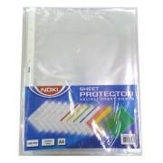 FOLIE PROTECTIE A4 CRISTAL 75 MIC 100/SET NOKI