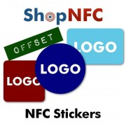 Custom Printed NFC Stickers - Offset