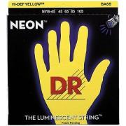 DR Neon Yellow Medium Cuerdas bajo eléctrico
