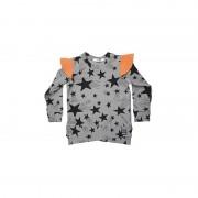 Bluza Stars - detaliu portocaliu, 8-10 ani