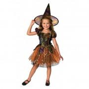 Costum de carnaval pentru fetite Vrajitoarea Stelelor, 12 luni+, marimea M