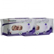 Himalaya Baby Wipes 72's (Pack of 2)