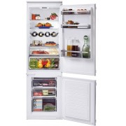 Hoover HBBS 100 UK Static Integrated Fridge Freezer - White