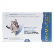 Revolution for Cats 5 -15lbs (Blue) 3 DOSES