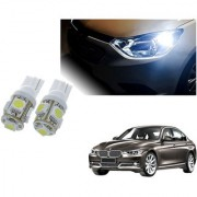 Auto Addict Car T10 5 SMD Headlight LED Bulb for Headlights Parking Light Number Plate Light Indicator Light For BMW 3 Series