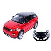 Toyhouse Officially Licensed Rastar Range Rover Evoque 1:14 Scale model Car, Red