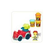 Set Plastilina Play Doh Masina Pompierilor