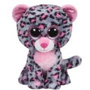 Jucarie Plus Meteor Baby Leopard Roz Gri 15 Cm