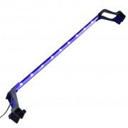 vidaXL Lampă LED pentru acvariu, cu cleme, albastru/alb, 75-90 cm