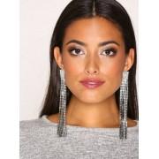New Look Statement Tassle Earring Örhängen Crystal