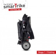 Tricicleta pliabila Smart Trike 8 in 1 STR7 Urban negru