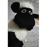 "12"" Hand Puppets, Early Childhood Lovely Animals Big Hand Puppets for Children Story Telling Stuffed Plush Toy for Adults, Black Sean Sheep"