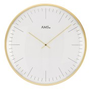 AMS 9541 Wandklok goudkleurig 40 cm ø