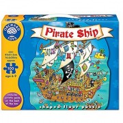 Pirate Ship Shaped Floor Puzzle