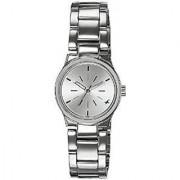 Fastrack Quartz Silver Round Women Watch 6114SM01