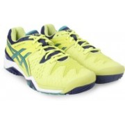Asics GEL-RESOLUTION 6 Tennis Shoes For Men(Blue)