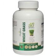 AE NATURALS Pure Organic Wheat Grass 800mg 100 Veg Capsules