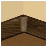 PBY605.253-S4 - Set 4 bucati piese colt interior culoare stejar maroniu pentru plinta PBC605