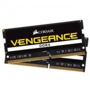 Memorie Corsair Vengeance SODIMM 16GB (2x8GB) DDR4 2400MHz CL16 1.2V, Dual Channel Kit, CMSX16GX4M2A2400C16