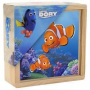 Set cuburi din lemn Finding Dory 9 piese