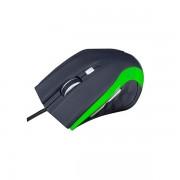 Mouse, Modecom MC-M5, USB, Black/Green