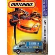 Mattel Matchbox 2006 MBX Metal 1:64 Scale Die Cast Car # 37 - Metallic Light Blue Bilstein Shock Abs